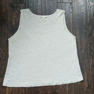 Eileen Fisher Knit Cotton Tank